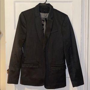 Guess size S heavy dark grey blazer